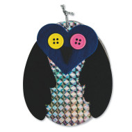 Retro Owl Notepad Craft Kit (makes 12)