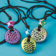 Mystical Pendant Necklace Craft Kit (makes 12)