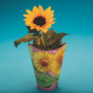 Sunflower Pot Craft Kit (makes 24)
