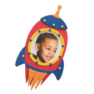 Blast Off Rocket Frame Craft Kit (makes 48)