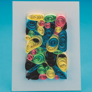 Paper Quilling Craft Kit (makes 12)