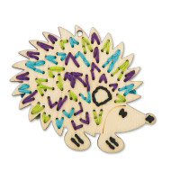 Handmade Charlotte™ Stitchable Hedgehog Craft Kit (makes 12)