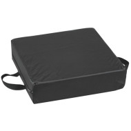 "DMI Deluxe Seat Lift Cushion 16""x16""x4"" Black"