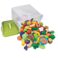 Classroom Play Food Set (set of 100)