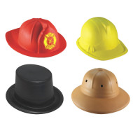 Career Foam Hat Assortment (set of 4)
