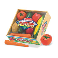 Melissa & Doug® Farm Fresh Vegetable Set (set of 7)