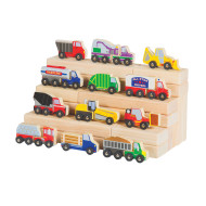 Wood Truck Collection (set of 12)