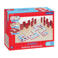 Jumbo Textured Dominoes (set of 28)