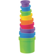 Stack and Pour Cups (set of 9)