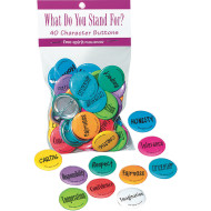 What Would You Do Buttons (pack of 40)