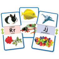 Alphabet Slide and Learn Flash Cards (set of 13)