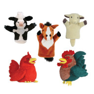 Farm Animals Puppet Set (set of 6)