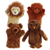 Wild Animals Puppet Set (set of 4)