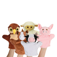 My First Puppets Farm Set (set of 5)