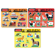 Sound Puzzle Set (set of 3)