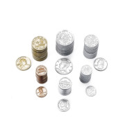 Plastic Coin Assortment (set of 500)