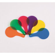 Color Paddles (set of 6)