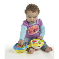 Playskool Rock Activity Mix N Crawl DJ Ball