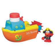 Sesame Street Elmo Bath Adventures Steamboat