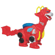 Playskool Transformer Robot Heatwave the Rescue Dino Bot