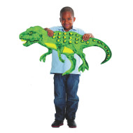 Giant Finger Paint Paper Dinosaur (pack of 24)