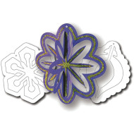 3-D Ornaments (pack of 30)