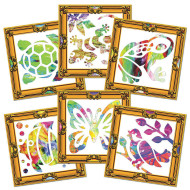 Masterpiece Finger Paint Frames