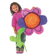 Giant Finger Paint Paper Flower (pack of 24)