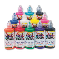 Color Splash!® Fabric Paint 4 oz. (pack of 12)