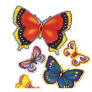 Butterfly Cutouts  (pack of 14)