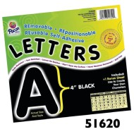 "Self-Adhesive 4"" Letters (pack of 78)"