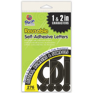 "1"" and 2"" Self Adhesive Letters"