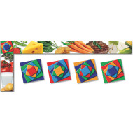 Food All Around The Board Trim (pack of 43)