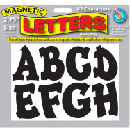 "Magnetic Letters, 2-3/4""H (pack of 82)"