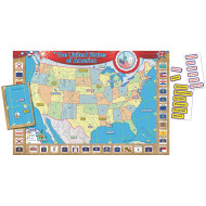 USA Map Bulletin Board Set