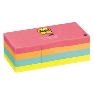 "Post-It® Notes Capetown color, 1-1/2""x2"" (pack of 12)"