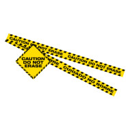 Caution Do Not Erase Magnetic Set (set of 9)