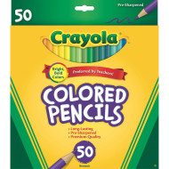 Crayola® Colored Pencils (box of 50)