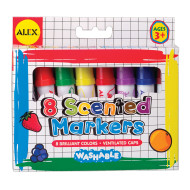 Washable Scented Markers (pack of 8)