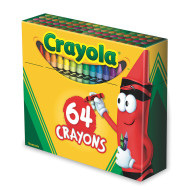 Crayola® Regular Size Crayons  (box of 64)
