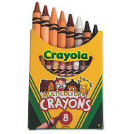 Crayola® Multicultural Crayons  (box of 8)