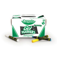 Crayola® Gel FX Markers  (set of 80)