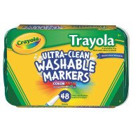 Crayola® Trayola™ Washable Markers (pack of 48)