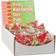 Teeny Watermelon Lollipops (case of 96)