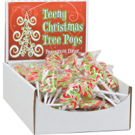 Teeny Christmas Tree Lollipops (case of 96)