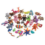 Plush Mini Animal Assortment (pack of 60)