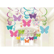 Spring Mega Value Swirl Decorations (pack of 30)