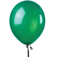 "11"" Jeweltone Balloons , Emerald Green (bag of 100)"