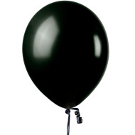 "11"" Jeweltone Balloons , Onyx Black (bag of 100)"