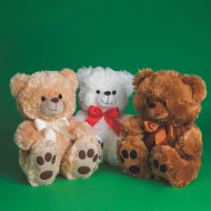 Big Feet Soft Bears (pack of 3)